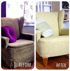 Chair, Before & After