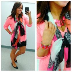 hotpinkblackscarf